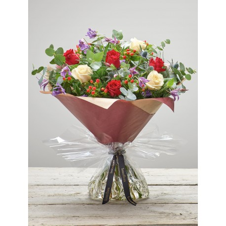Berry Rose Hand-tied