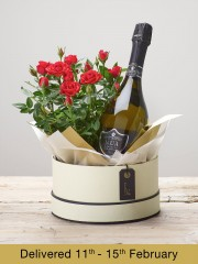 Ruby Rose Hatbox & Prosecco