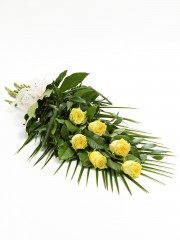 Simple Rose Sheaf - Yellow