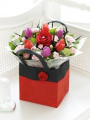 Valentine's Gift Bag with Chocolates